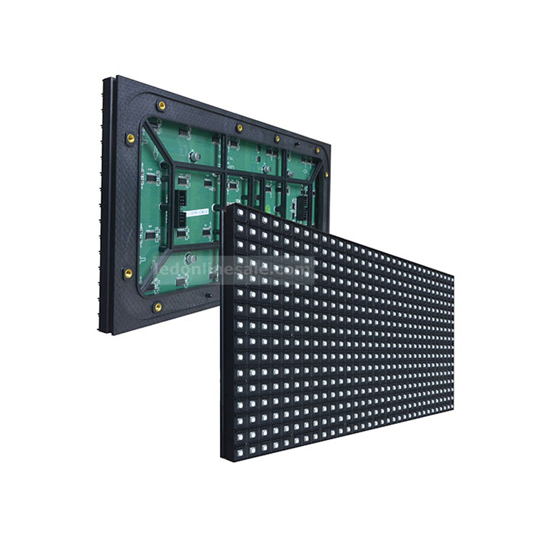 P10 scan outdoor led display module led online sale for Exterior led screen